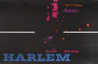 Poster, Apollo New York 125th Street Harlem