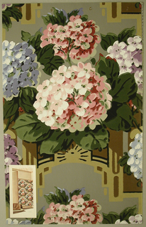 Sidewall With Applied Illustration (France), 1928–29