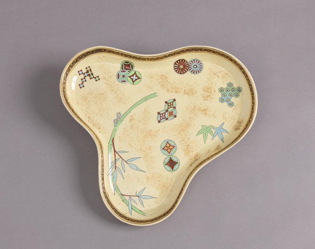 Tray, from a Japonisme Lemonade Set Tray
