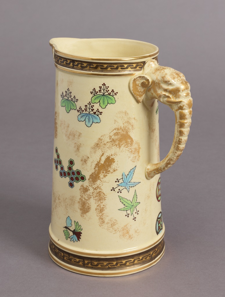 Pitcher, from a Japonisme Lemonade Set Pitcher, 1879