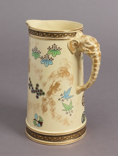 Pitcher, from a Japonisme Lemonade Set Pitcher, 1879