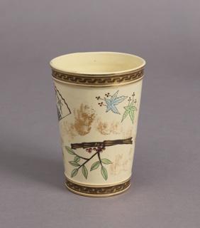 Tumbler, from a Japonisme Lemonade Set Tumbler, 1879