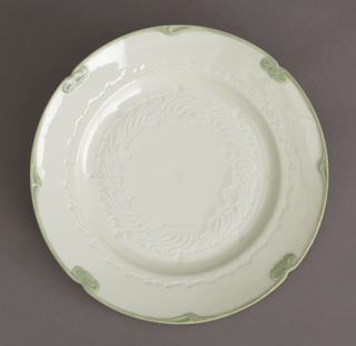 "Plate or Stand for an Écuelle, from the ""Canton"" Dinner Service Plate Or Stand"