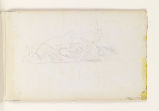 Drawing, Sketchbook: Newport, Rhode Island, New Jersey, and England Views
