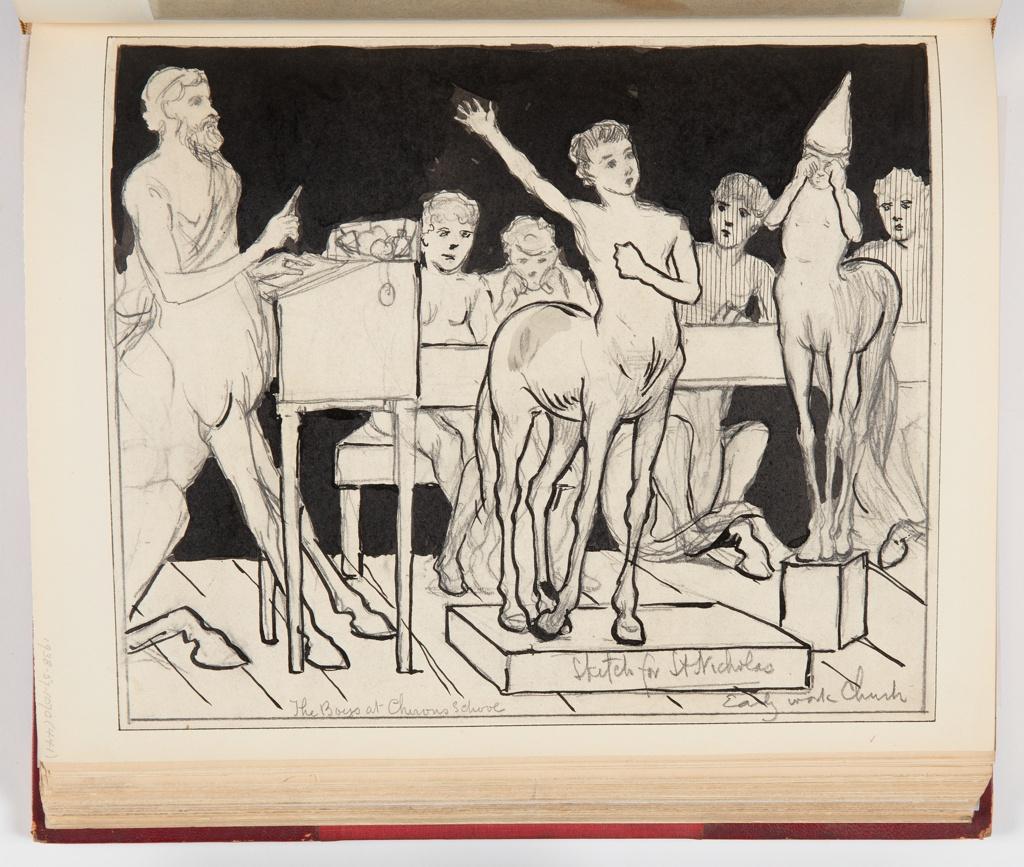 Ephemera, Chiron's School–The Little Centaur Speaks His Piece, 1879