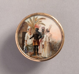 Button, late 18th century