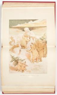 Ephemera, Birth of Santa Claus