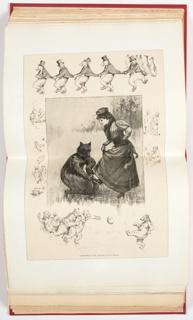 Ephemera, Christmas Fun, Illustration for Harper's Weekly (XXXVII, No. 1930, December 16, 1893, p. 1192)