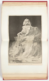 Ephemera, Great Northern Sphinx, Illustration for Harper's Weekly (XXXVII, No. 1881, January 7, 1893, p. 9)