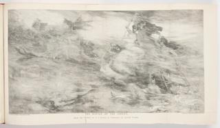 Ephemera, The Battle of the Sirens, Illustration for Harper's Weekly (XXXVII, No. 1931, December 23, 1893, p. 1227)