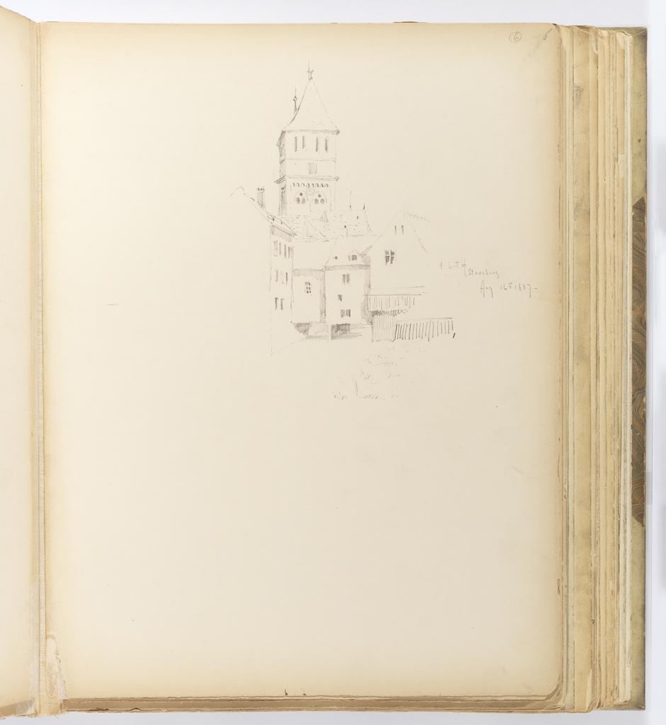Album Page, A Bit of Strasbourg