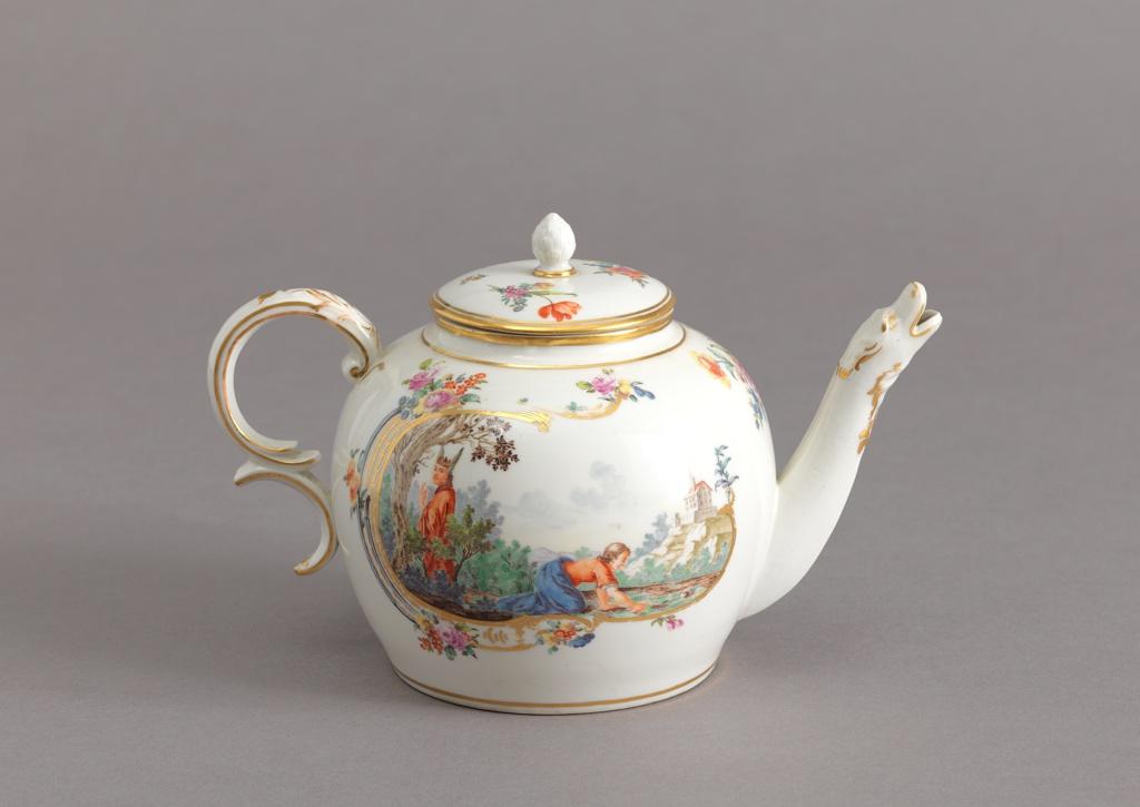 Teapot with Animal-Shaped Spout Teapot