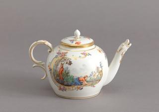 Teapot with Animal-Shaped Spout Teapot, 1765–1770