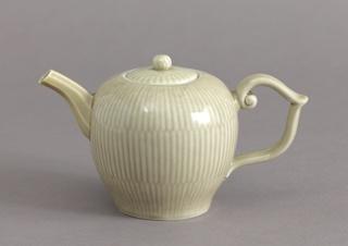 Teapot with Dark Celadon Glaze Teapot