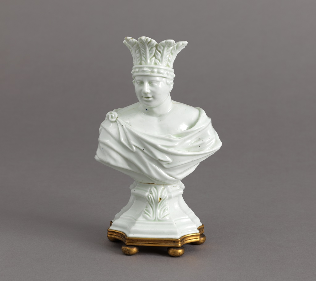 """Allegorical Bust of """"America"""" Bust, mid- 18th century"""