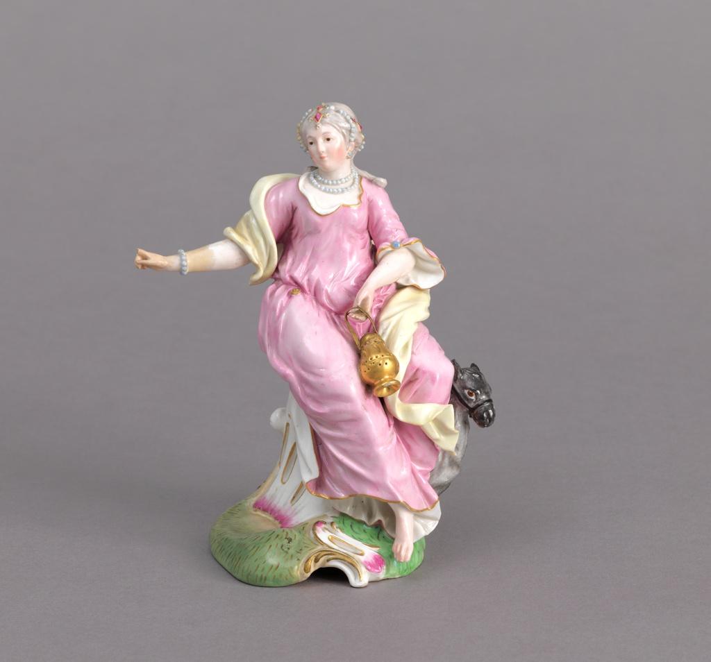 "Allegorical Figure of ""Asia"" Figure, 19th century"