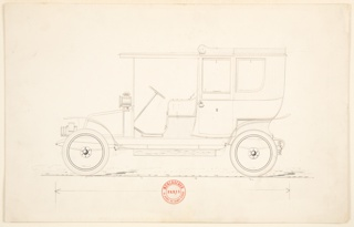 Drawing, Design for a Closed Automobile