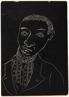 Drawing, Illustration for Shakespeare in Harlem