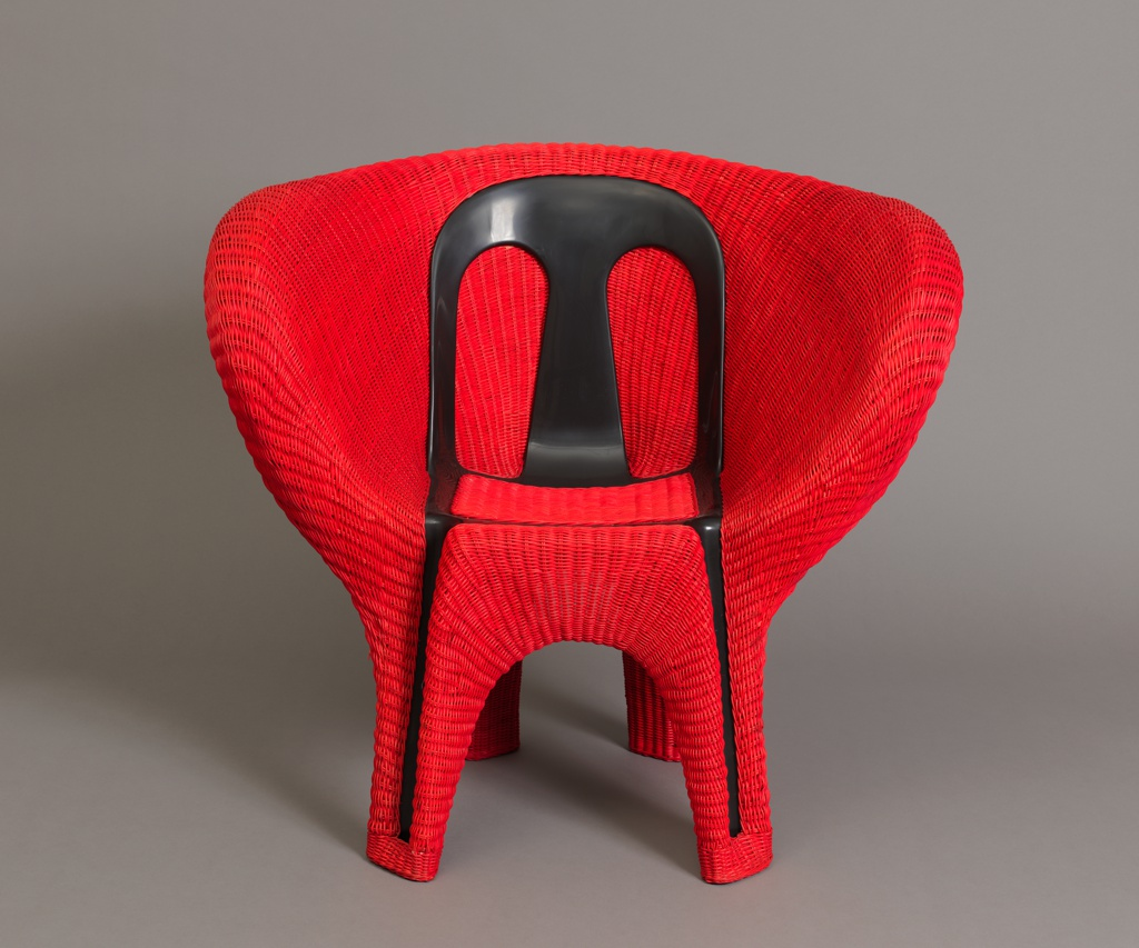 """Chair, Café Chair from """"Transplastic"""" Collection"""