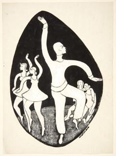 Drawing, Ballet Dancers