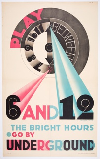 Poster, Play between 6 and 12, The Bright Hours
