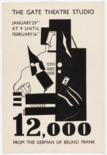 Program, 12,000, The Gate Theatre Studio
