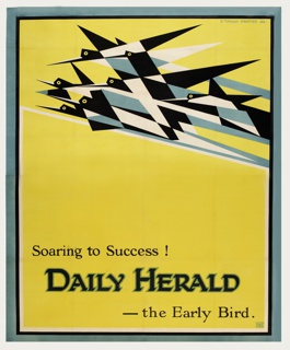 Poster, Soaring to Success! Daily Herald-the Early Bird
