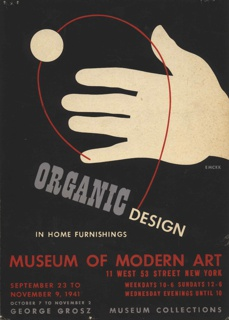 Poster, Organic Design in Home Furnishings, 1941