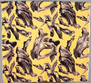 Textile, Yellow Driftwood