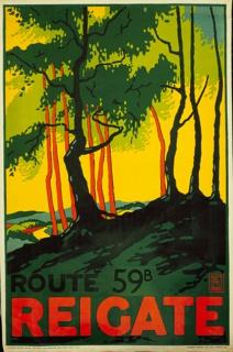 Poster, Reigate