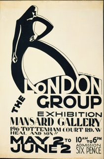 Poster, The London Group
