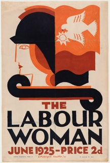 Poster, The Labour Woman, 1925