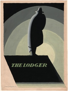 Drawing, Poster Design for The Lodger by Alfred Hitchcock, 1926