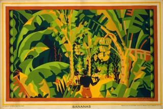 Poster, Bananas, 1926