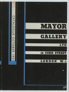 Brochure, Mayor Gallery