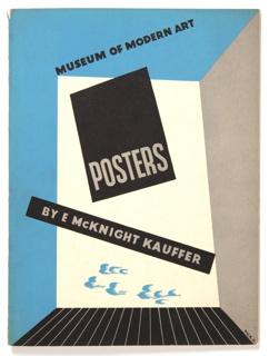 Pamphlet, Posters by E. McKnight Kauffer, Museum of Modern Art, 1937