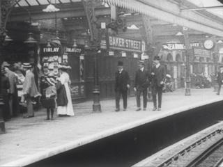 Film, A Trip on the Metropolitan Railway