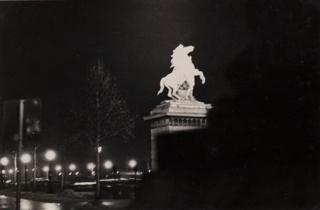 Photograph, Marly Horse, Place de la Concorde, Paris