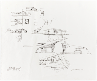 Drawing, Concept Sketches, Butterfly House, Auburn, AL