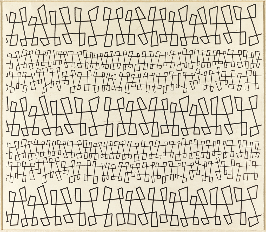 Drawing, Textile Design: The Dance