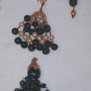 Earrings (India), ca. 1960–70