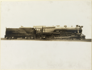 Photograph, Manufacturer's Photograph of K4s Class Locomotive, Pennsylvania Railroad