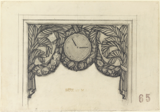 Drawing, Design for Woodwork Decor