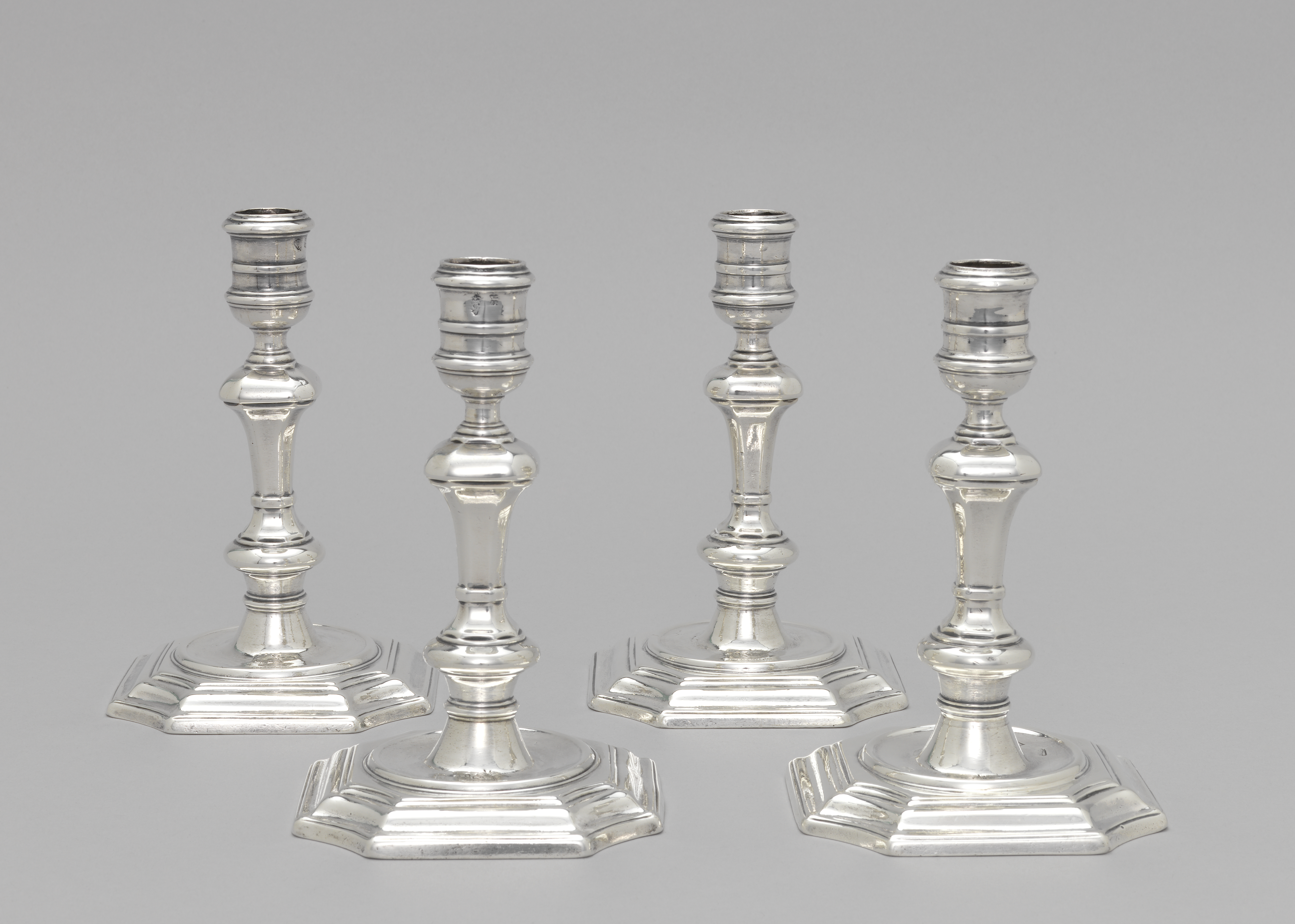 Candlesticks [4] (Ireland), 1729   Objects   Collection of