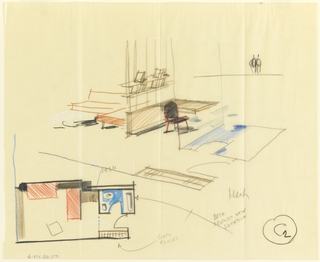 Drawing, Rough sketch, room: C2 Uris Hotels