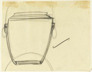 Drawing of a jar.