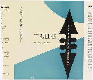 Book Cover, André Gide by Van Meter Ames