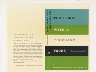 Design for book cover featuring from left to right: back, spine, and front cover. Five horizontal colored bars run the width of spine and cover. Colors are from top to bottom: light blue, green, white, black, and green. Spine features title written vertically in two lines of slab-serif text. Written vertically within third horizontal bar is author's name in italic serif text. In fourth black bar is publisher logo, a semicircle intersected by a thin vertical white line and a small, solid white circle.