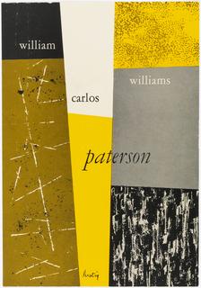 Book Cover, Paterson by William Carlos Williams
