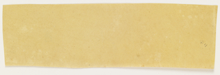 Paper sample in yellow.